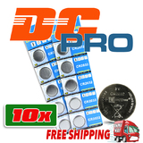 10 New CR2032 Lithium 3v Coin Battery Australia Stock FAST SHIPPING